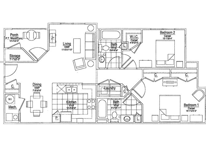 Lotus Floor Plan 3