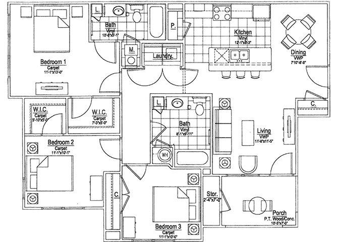 Primrose Floor Plan 4