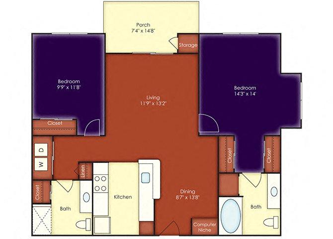 Ketch Floor Plan 7