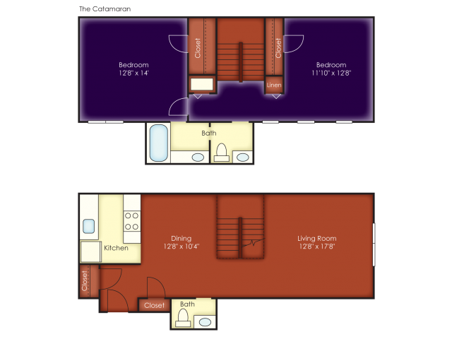 Catamaran Floor Plan 4