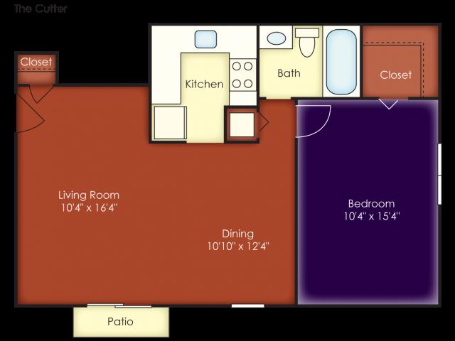 Cutter Floor Plan 3