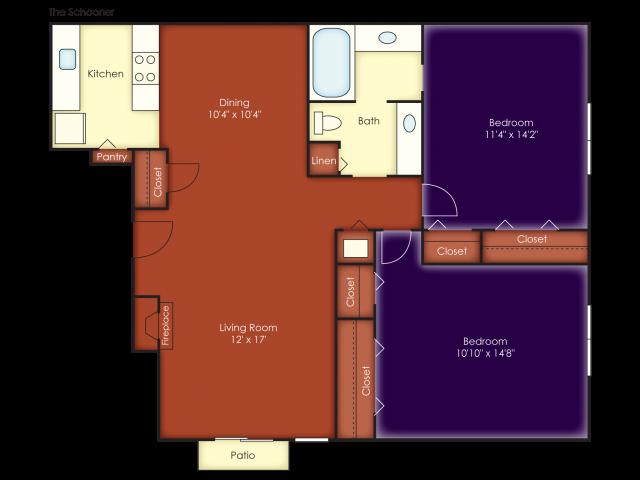 Schooner Floor Plan 6