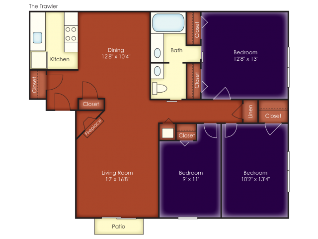 Trawler Floor Plan 8