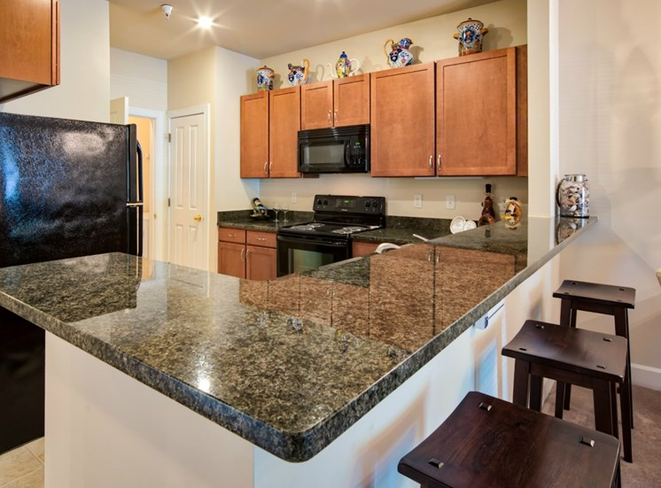 Luxury Kitchen at The Crossings at Red Mill