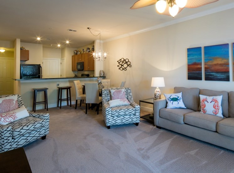 Virginia Beach Luxury Apartments Living