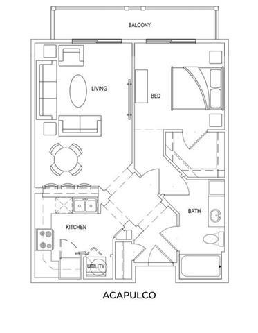 ACAPULCO Floor Plan 1