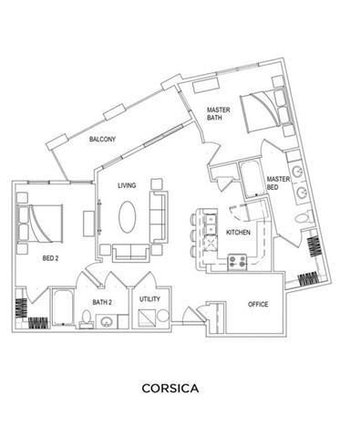 CORSICA Floor Plan 6