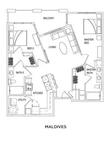 MALDIVES Floor Plan 8