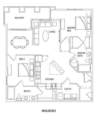 WAIKIKI Floor Plan 10
