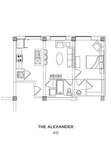 THE ALEXANDER Floor Plan 2