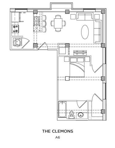 THE CLEMONS Floor Plan 3
