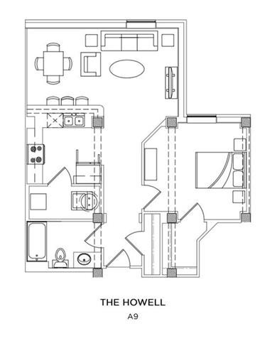 THE HOWELL Floor Plan 11