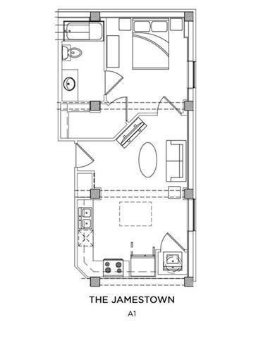 THE JAMESTOWN Floor Plan 12