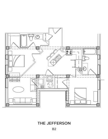 THE JEFFERSON Floor Plan 18