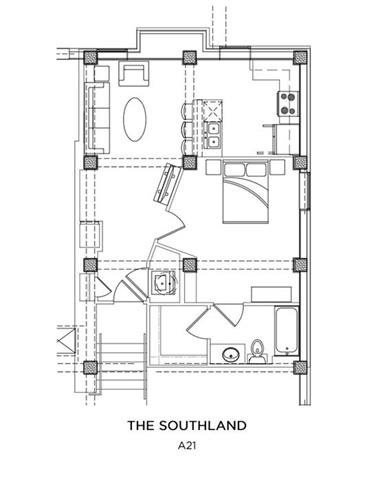 THE SOUTHLAND Floor Plan 14