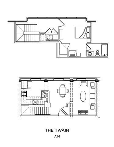 THE TWAIN Floor Plan 16