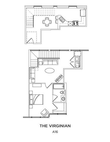 THE VIRGINIAN Floor Plan 6