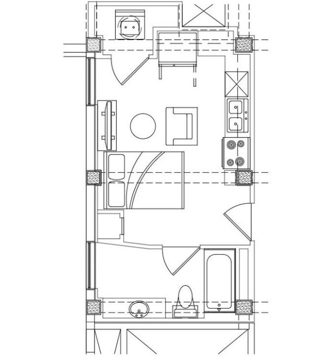 THE JULEP Floor Plan 8