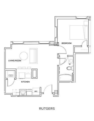 RUTGERS Floor Plan 16