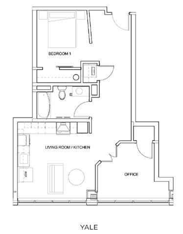 YALE Floor Plan 23