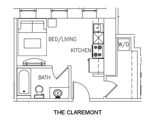 THE CLAREMONT Floor Plan 3