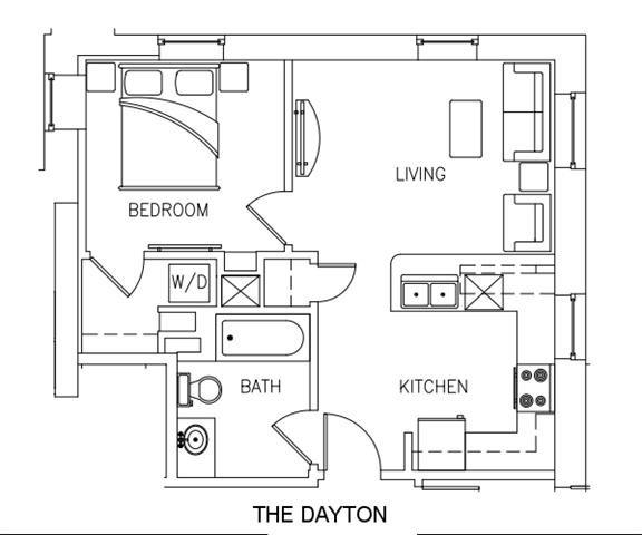 THE DAYTON Floor Plan 7