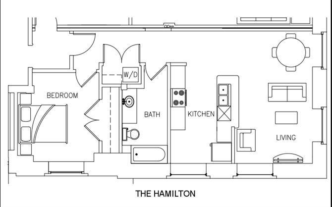 THE HAMILTON Floor Plan 8