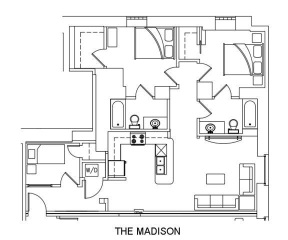 THE MADISON Floor Plan 10