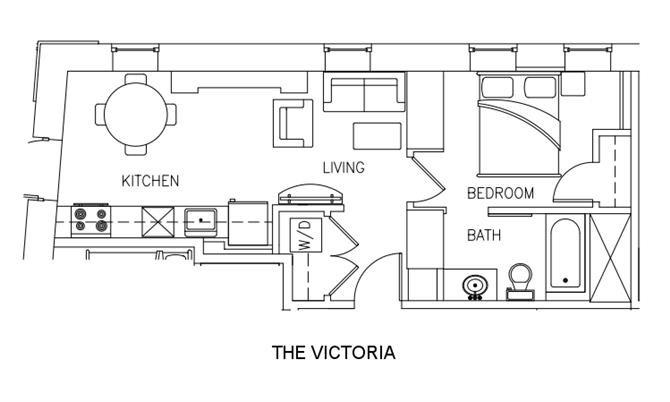 THE VICTORIA Floor Plan 9
