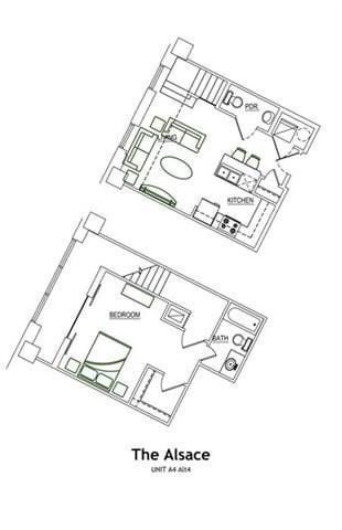 THE ALSACE LOFT Floor Plan 6