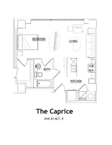 THE CAPRICE Floor Plan 1