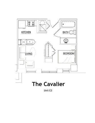 THE CAVALIER Floor Plan 2