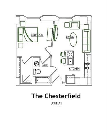 THE CHESTERFIELD Floor Plan 7