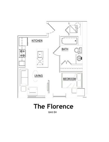 THE FLORENCE Floor Plan 3