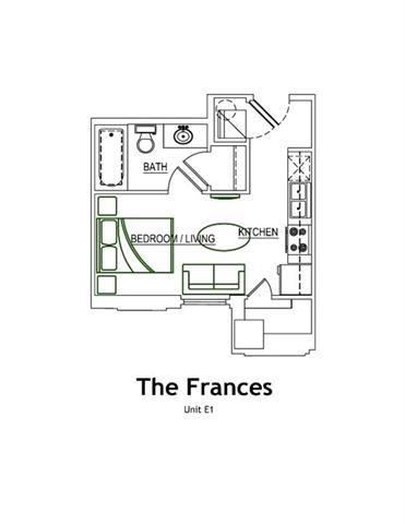 THE FRANCES Floor Plan 4