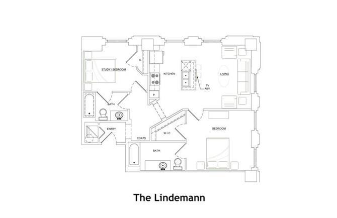 THE LINDEMANN Floor Plan 15