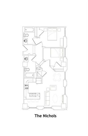 THE NICHOLS Floor Plan 16