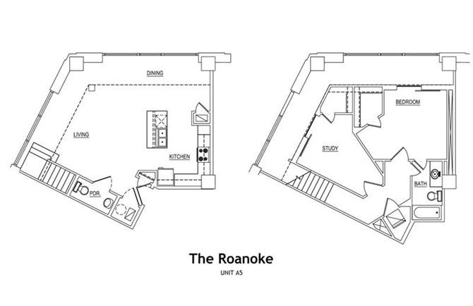 THE ROANOKE LOFT Floor Plan 10