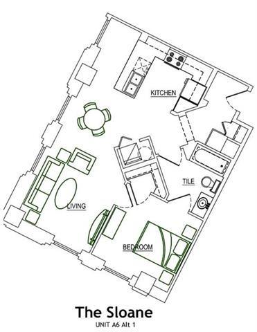 THE SLOANE Floor Plan 12