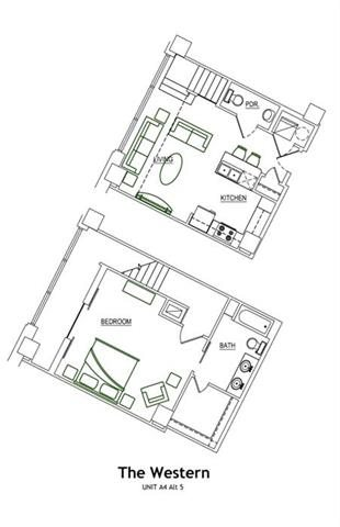 THE WESTERN LOFT Floor Plan 14
