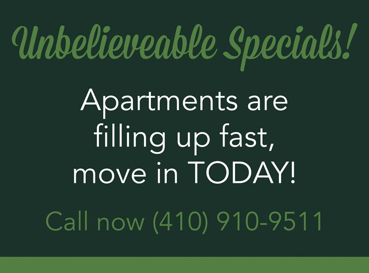 Dunfield Apartments Specials