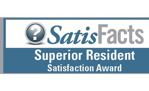 2016 Superior Resident Satisfaction Award
