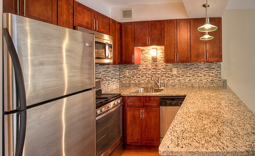 Kitchen at 1350 Lake Shore Drive 2