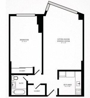 Floor Plan 6 | 1350 Lake Shore Drive
