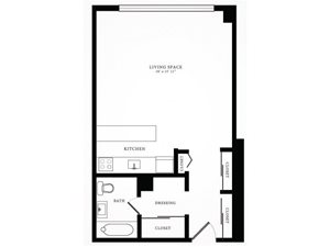 Floor Plan 3 1350 Lake Shore Drive