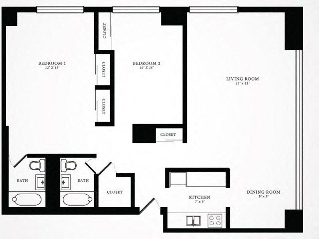 Floor Plan 10 | 1350 Lake Shore Drive