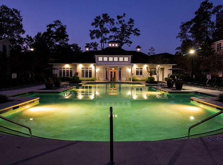 Pool-nighttime-The-Grove-at-Oakbrook-