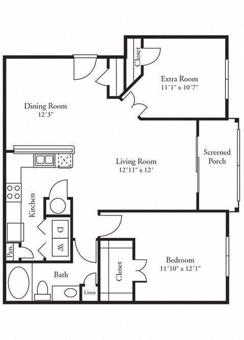 The Gahagan Floor Plan 2