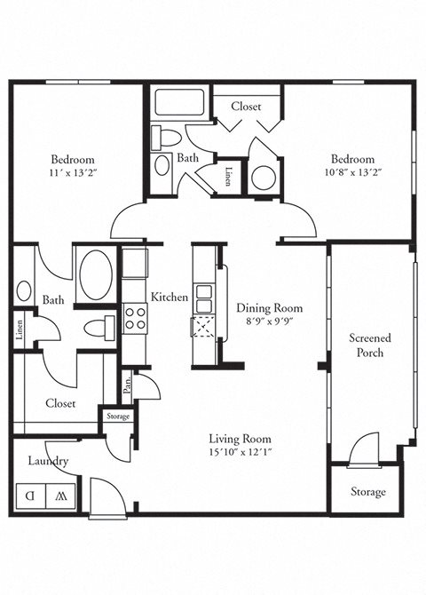 The Archdale Floor Plan 3