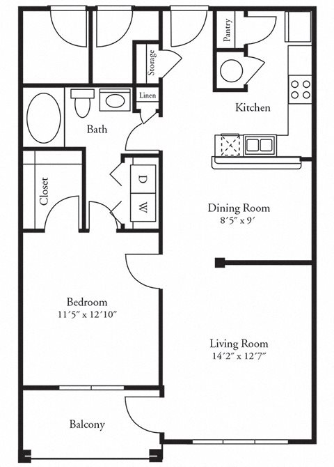 The Briarwood Floor Plan 1